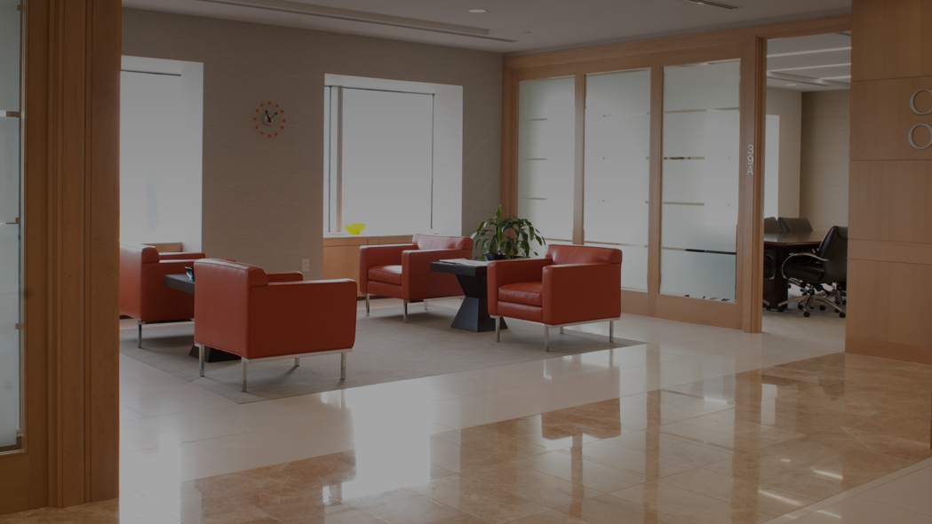law firm interior lobby